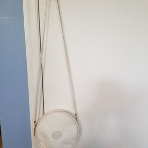 Vintage White Gucci Round Crossbody